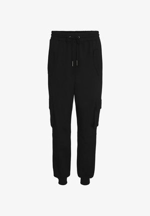 RELAXED FIT  - Cargo trousers - black