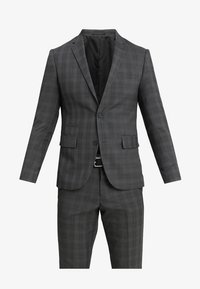 Lindbergh - MENS SUIT SLIM FIT - Completo - grey check - 8