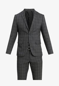 MENS SUIT SLIM FIT - Suit - grey check
