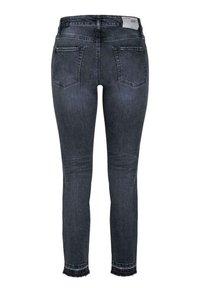 Cambio - PARIS ANCLE CUT - Slim fit jeans - blue/black - 1