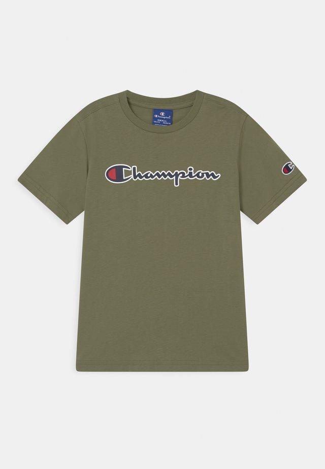 LOGO CREWNECK UNISEX - Print T-shirt - khaki