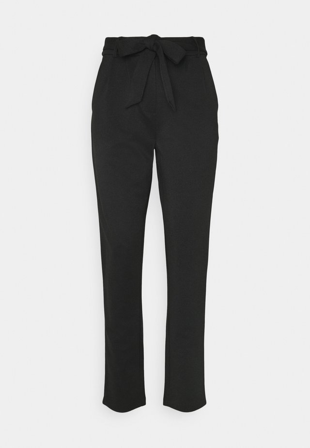 YASVIOLI ANKLE PANT  - Trousers - black