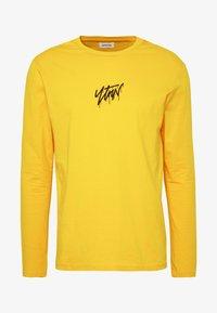 YOURTURN - Maglietta a manica lunga - yellow - 4