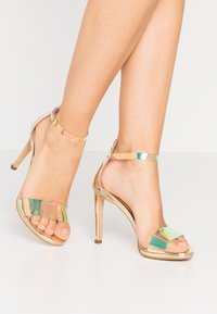 Trendyol - High heeled sandals - gold - 0