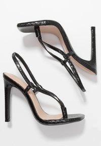 Steve Madden - BASHMENT - High heeled sandals - black - 3