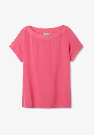 Basic T-shirt - fuxia