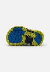 Keen - NEWPORT H2 UNISEX - Walking sandals - blue depths/chartreuse - 4