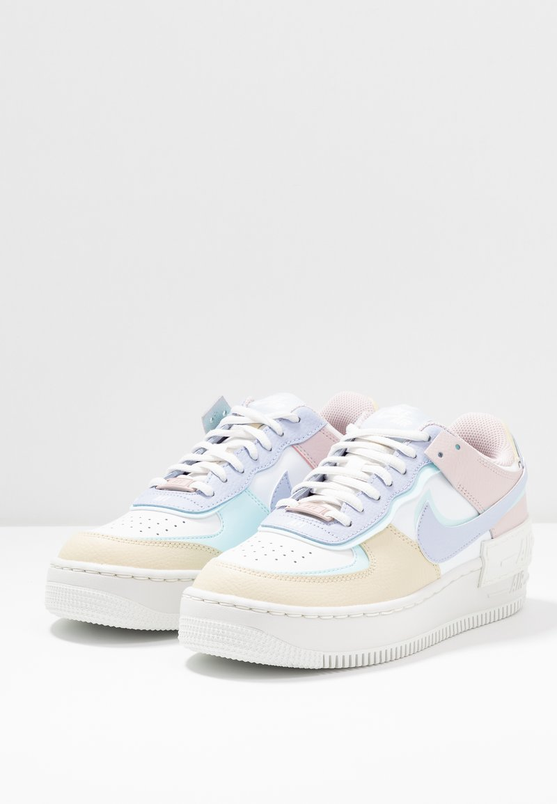 Nike Sportswear Air Force 1 Shadow Trainers Summit White Ghost Glacier Blue Fossil Barely Rose White Zalando Co Uk Fancy a £10 discount?* get updates by email from zalando.co.uk. air force 1 shadow trainers summit white ghost glacier blue fossil barely rose