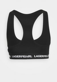 KARL LAGERFELD - LOGO BRALETTE - Bustier - black - 6