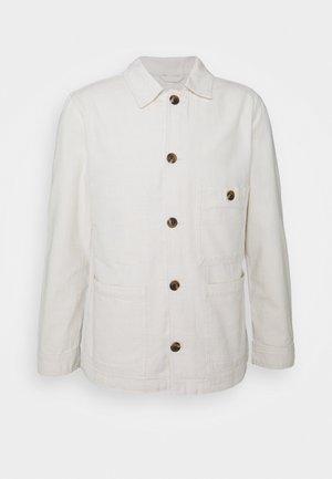SLHWINSTED JACKET - Giacca di jeans - bone white