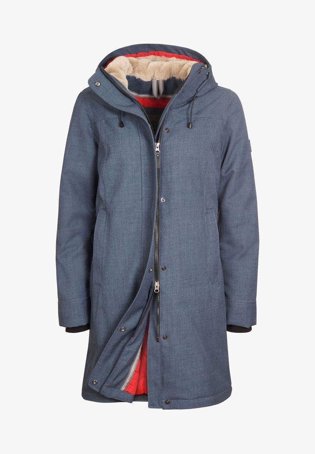 Winter coat - bluegrey