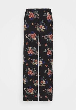 VMSAGA WIDE PANT - Pantalones - black