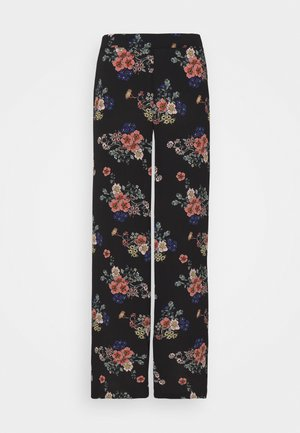 VMSAGA WIDE PANT - Kalhoty - black