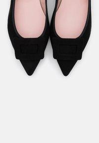 Pretty Ballerinas - ANGELIS - Baleríny - black - 6