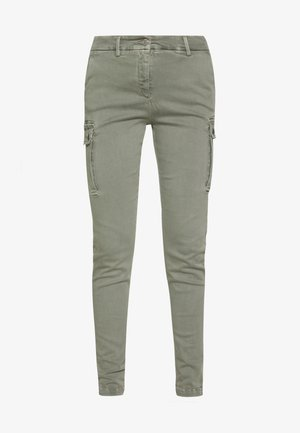 KATHIA - Trousers - sage green