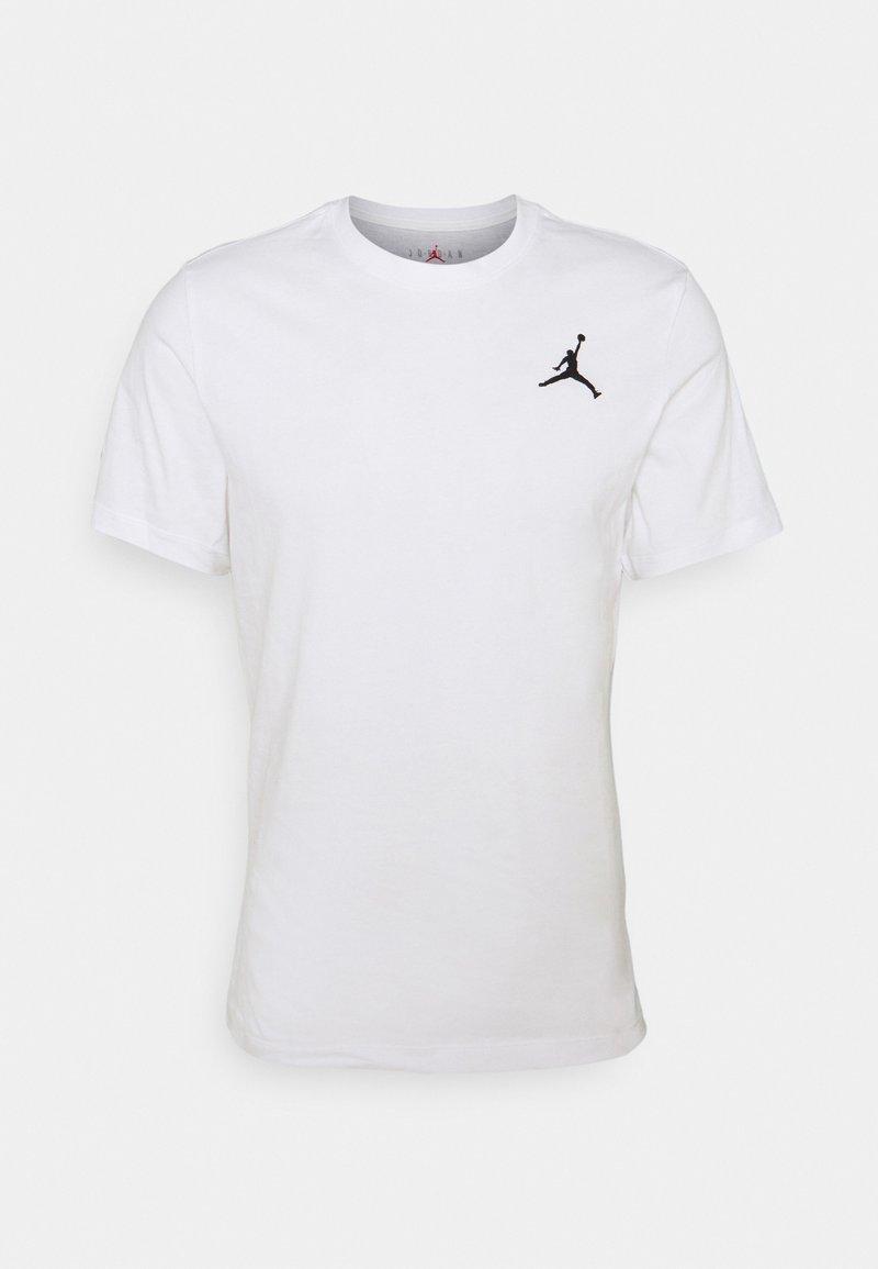 Jordan - JUMPMAN CREW - Basic T-shirt - white/black