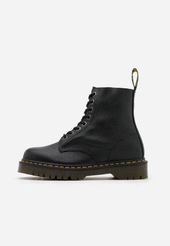 1460 PASCAL BEX - Veterboots - black pisa