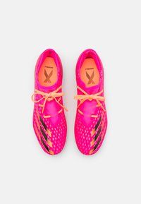 adidas Performance - X GHOSTED.2 FG - Moulded stud football boots - shock pink/core black/screaming orange - 3