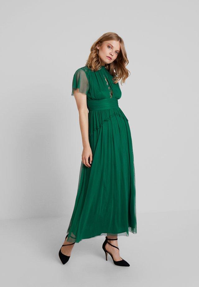 Společenské šaty - emerald