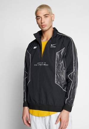 TOP - Windbreaker - black/black