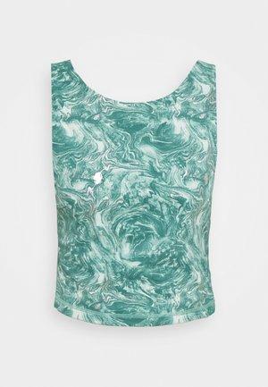 WORKOUT VEST - Topper - pale aqua green/water