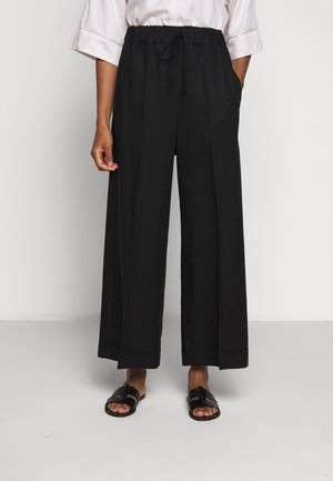 ARIA TROUSER - Bukser - black