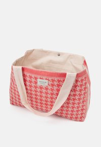 CECILIE copenhagen - BAG LARGE DOGTOOTH - Shopping bag - emberglow - 2
