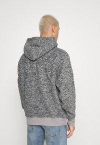 Levi's® - HOODIE - Luvtröja - mottled grey/black - 2