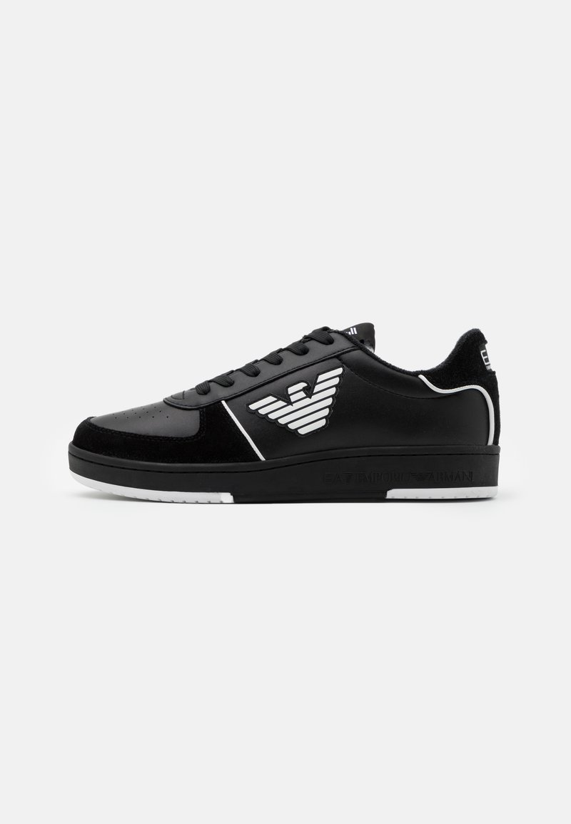 EA7 Emporio Armani - UNISEX - Baskets basses - black/white