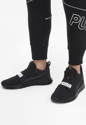 ANZARUN LITE BOLD - Sneaker low - black/white