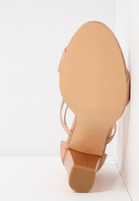 Glamorous - High heeled sandals - rose gold - 6