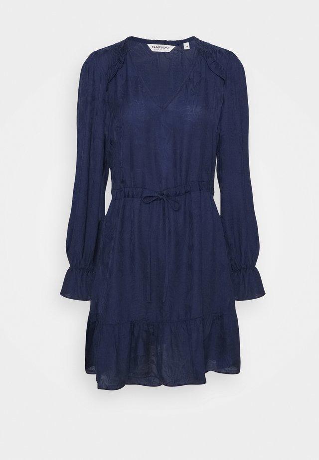 MINERVA - Denní šaty - bleu marine