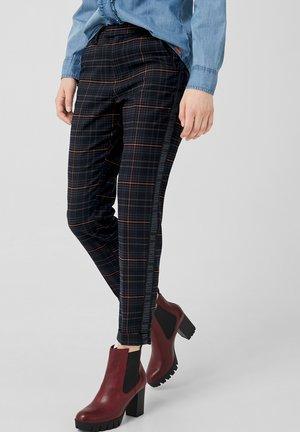 MIT WORDING - Trousers - black