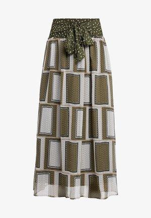 NINE SKIRT - Maxi sukně - burnt olive