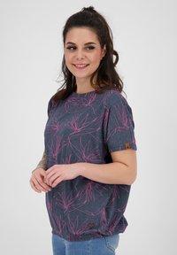 alife & kickin - Print T-shirt - marine - 3