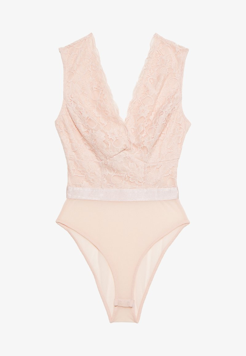 New Look - GO BUILT UP BODY - Bluse - pale pink