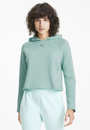 EVOSTRIPE WOMEN'S FEMMES - Hoodie - mist green