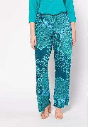 MANDALA-DESI - Trousers - karibikgrün