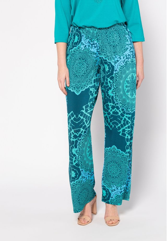 MANDALA-DESI - Pantalon classique - karibikgrün