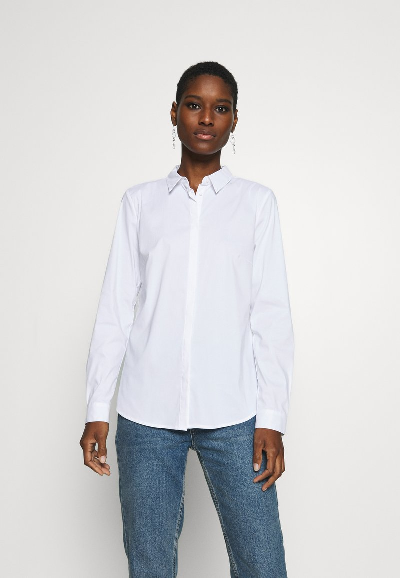 Esprit Collection - CORE MIRACLE - Button-down blouse - white