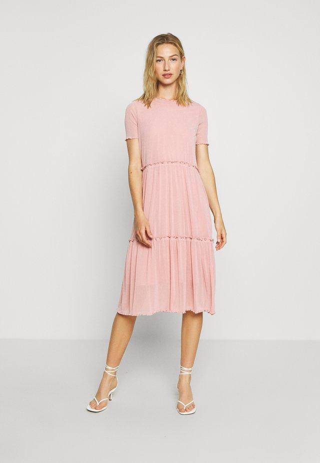 NAKKI - Jumper dress - cashmere rose