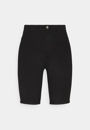 ONLROYAL BIKE - Jeansshorts - black denim