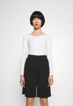 NEBRIANA - Long sleeved top - natural