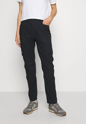 ICONIQ CARGO PANT - Stoffhose - black