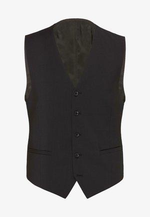 Suit waistcoat - schwarz