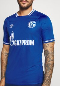 Umbro - FC SCHALKE 04 HOME - Club wear - deep surf/brilliant white - 5