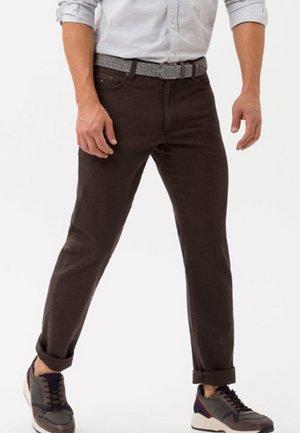 STYLE CADIZ  - Straight leg jeans - nut
