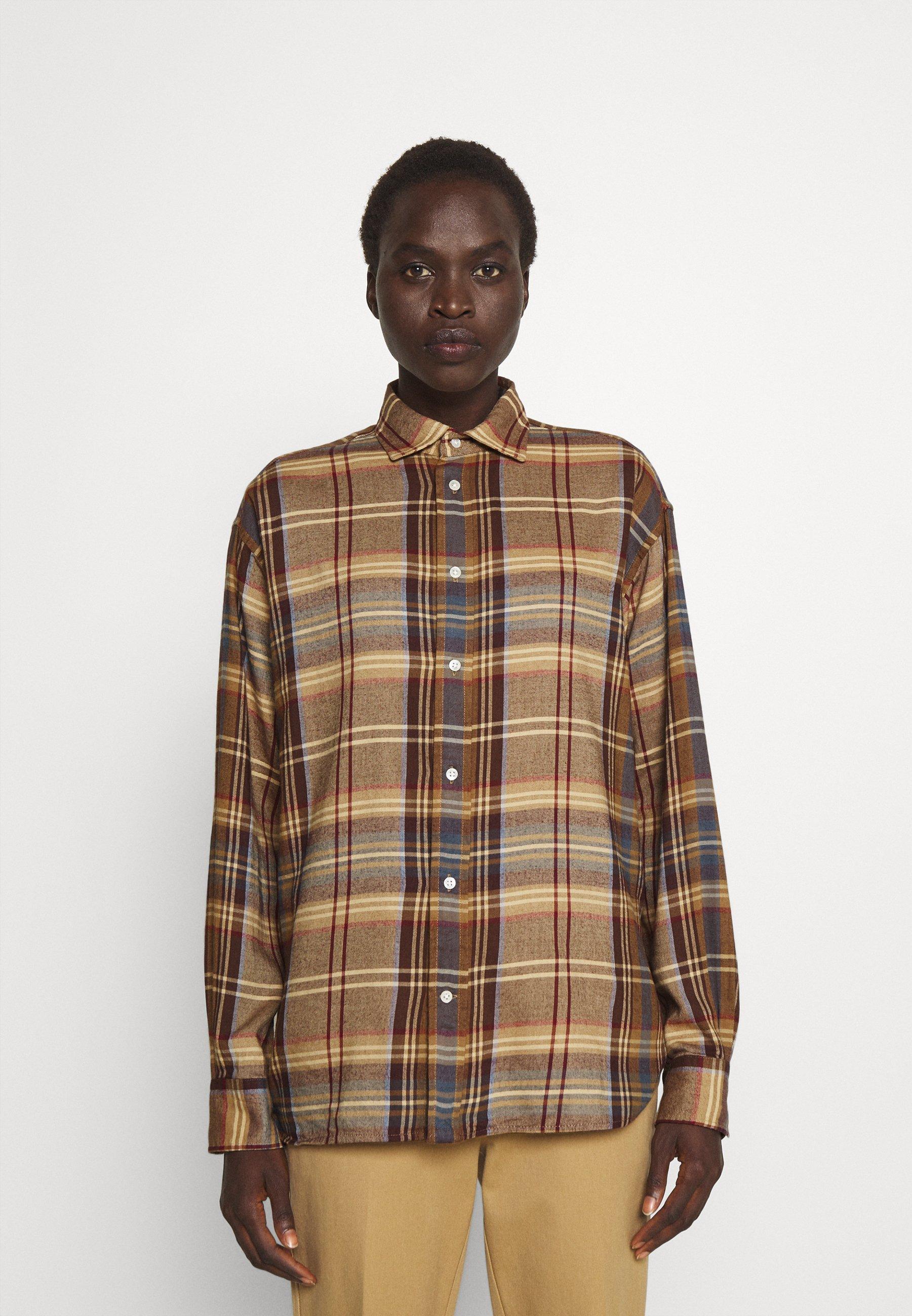 Women LONG SLEEVE BUTTON FRONT - Button-down blouse