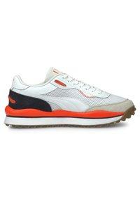 Puma - STYLE RIDER - Trainers - white-lava blast-puma black - 5