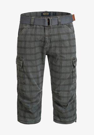 MIT GÜRTEL NICOLAS - Shorts - raven